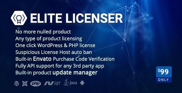 Elite Licenser v2.2.4 - Software License Manager for WordPress