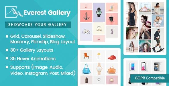 Everest Gallery v1.0.5 - Responsive WordPress Gallery Plugin