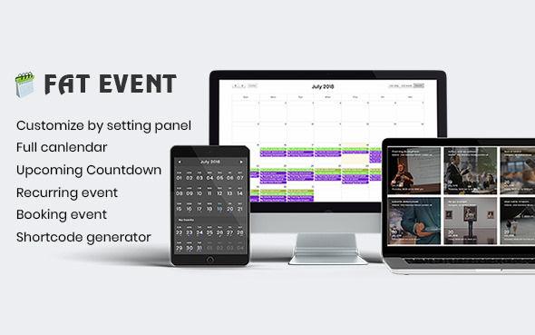 FAT Event v4.9 - WordPress Event and Calendar Booking