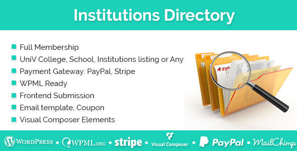 Institutions Directory v1.2.9