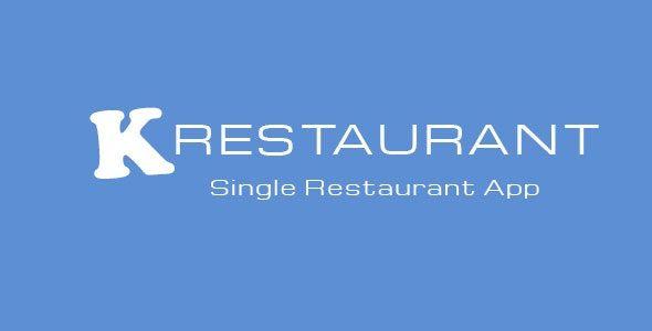 K-Restaurant Mobile App v2.4.1