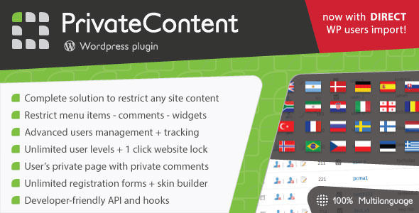 PrivateContent v7.33 - Multilevel Content Plugin