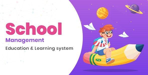 School Management v7.8 - Education & Learning Management system for WordPress