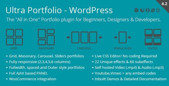 Ultra Portfolio v5.2 - WordPress