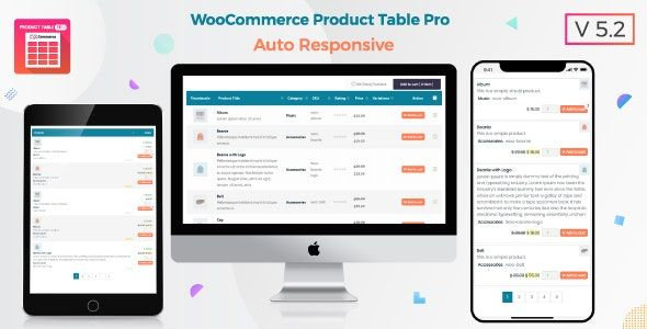 Product Table Pro v7.0.5 - WooCommerce Product Table view solution