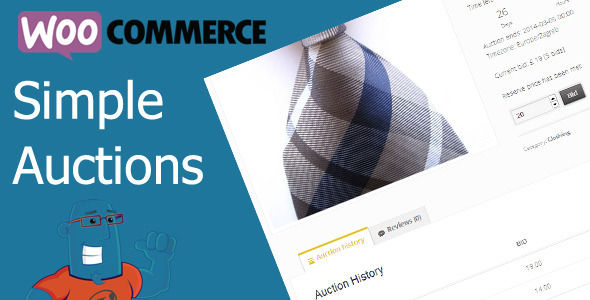 WooCommerce Simple Auctions v2.0.0 - Wordpress Auctions