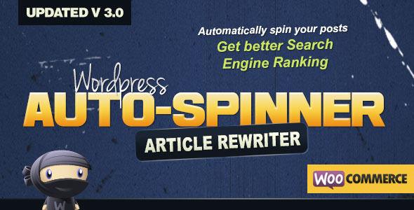 Wordpress Auto Spinner 3.8.0 - Articles Rewriter