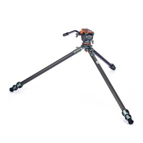 3 Legged Thing Mike Carbon Fibre Tripod with Levelling Base & AirHed Cine-S Fluid Head
