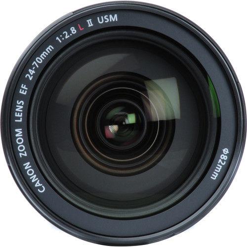 Canon EF 24-70mm f/2.8 L USM mkII Lens