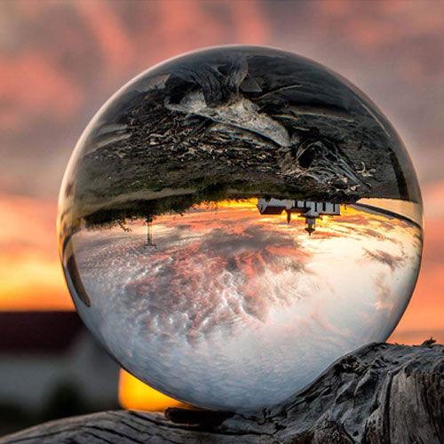 Foresight Crystal Lens Ball - 80mm