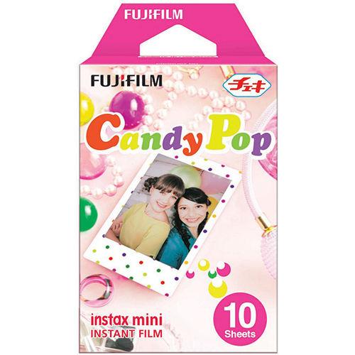Fujifilm Instax Mini Instant Film Candy Pop (10 Pack)