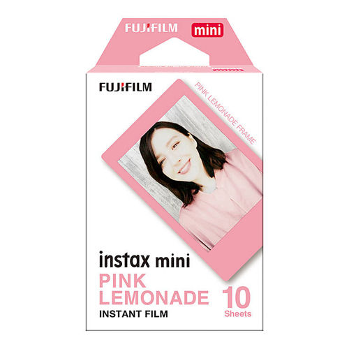 Fujifilm Instax Mini Instant Film Pink Lemonade (10 Pack)
