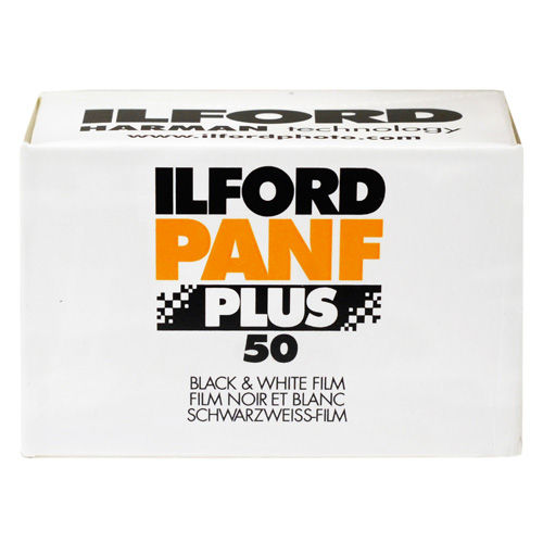Ilford PAN F PLUS 50 Black and White 35mm Film (36 Exposures)