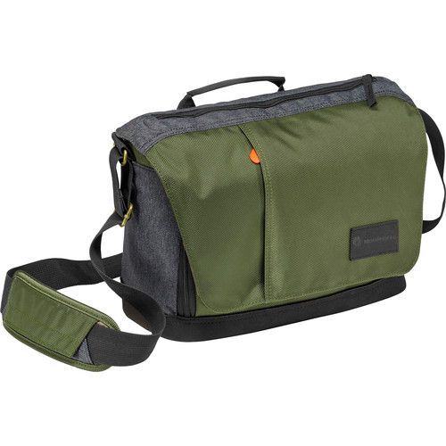 Manfrotto Street Camera Messenger bag for CSC/DSLR (Green and Grey)