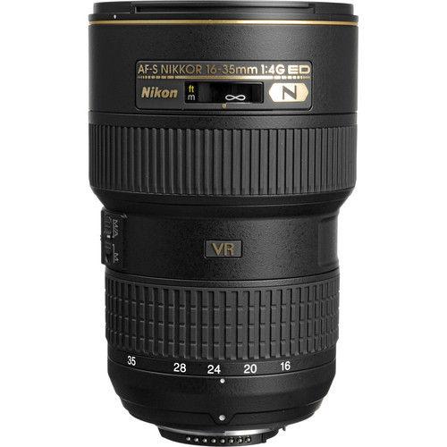 Rental Nikon 16-35mm f/4G IF-ED AF-S Wide Angle Nikkor Lens