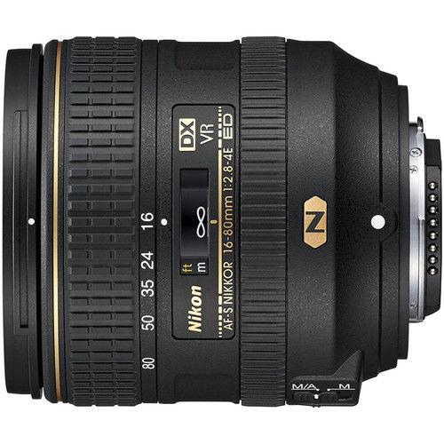 Nikon 16-80mm f/2.8-4E AF-S ED DX VR Lens