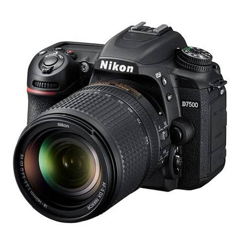 Nikon D7500 DSLR Camera + 18-140mm AF-S VR lens