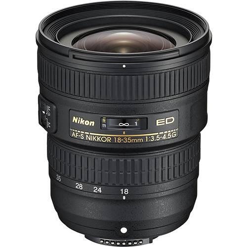 Nikon 18-35mm f/3.5-4.5G AF-S ED Lens