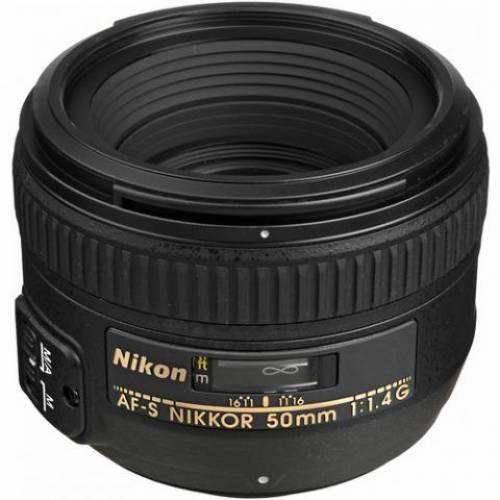 Rental Nikon 50mm f/1.4G AF-S Lens