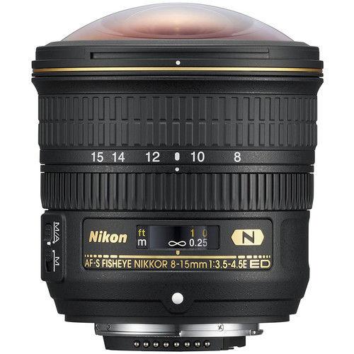 Nikon 8-15mm f/3.5-4.5E AF-S ED Fisheye Lens