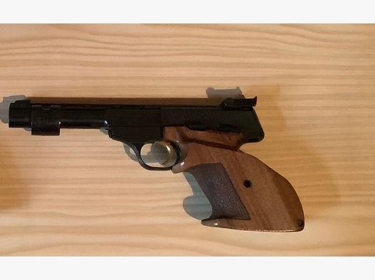 F.N. Browning Kaliber 22 LR mit Holzgriff
