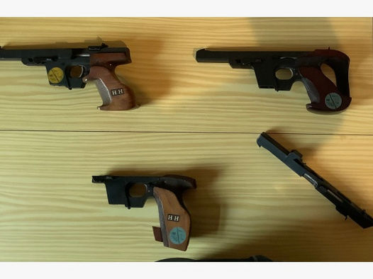 Verkaufe eine Walther GSP Pistole