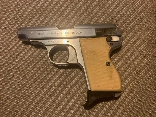 Pistole Brescia Italy Kaliber 22 LR