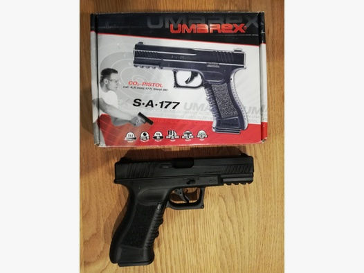 Umarex SA 177 Luftpistole Glock