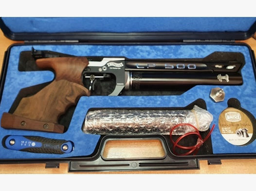 Walther LP500 Expert Match Luftdruckpistole