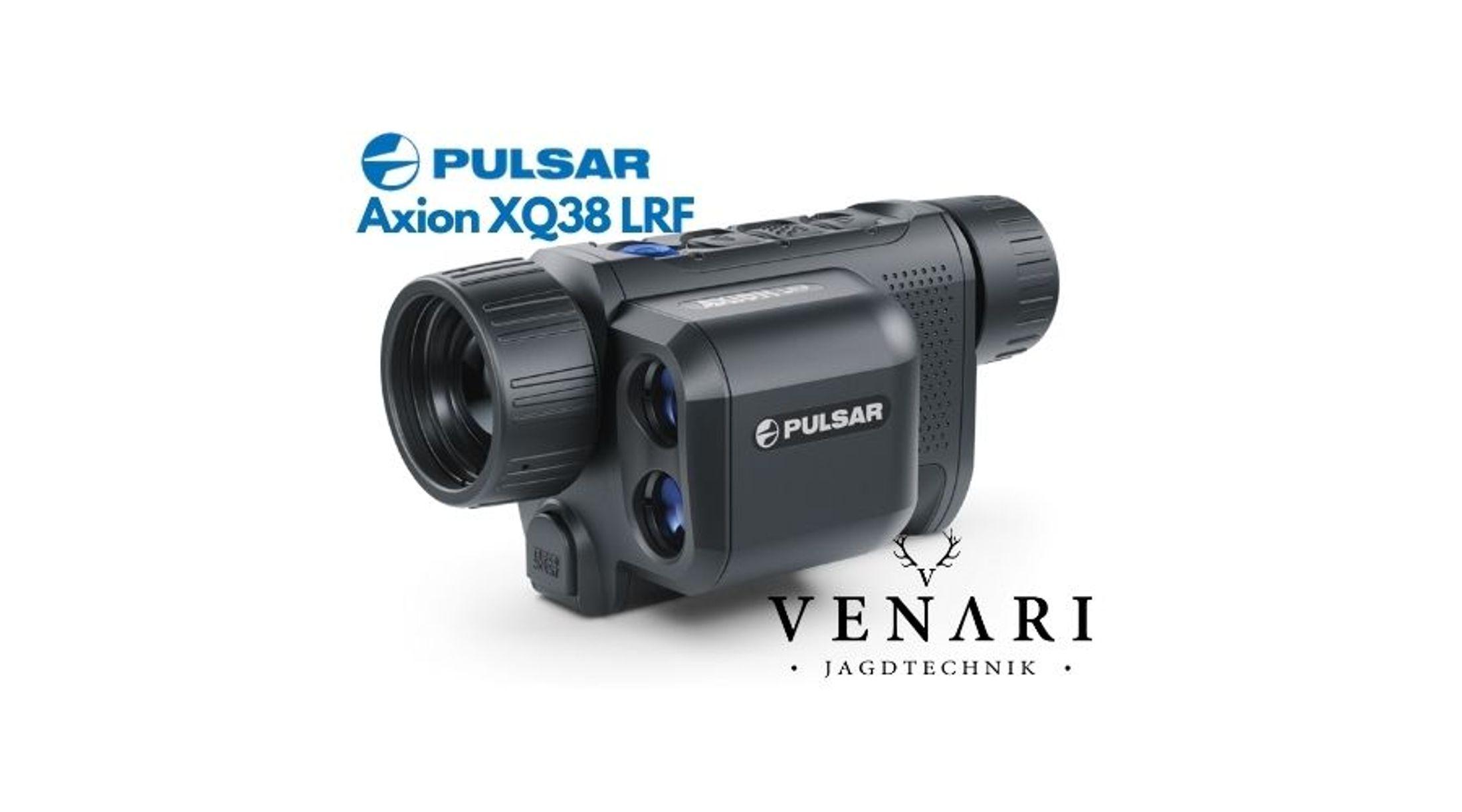 Pulsar Axion XQ38 LRF inkl. Zusatzakku   Wärmebildkamera für die Jagd mit Laser Entfernungsmesser