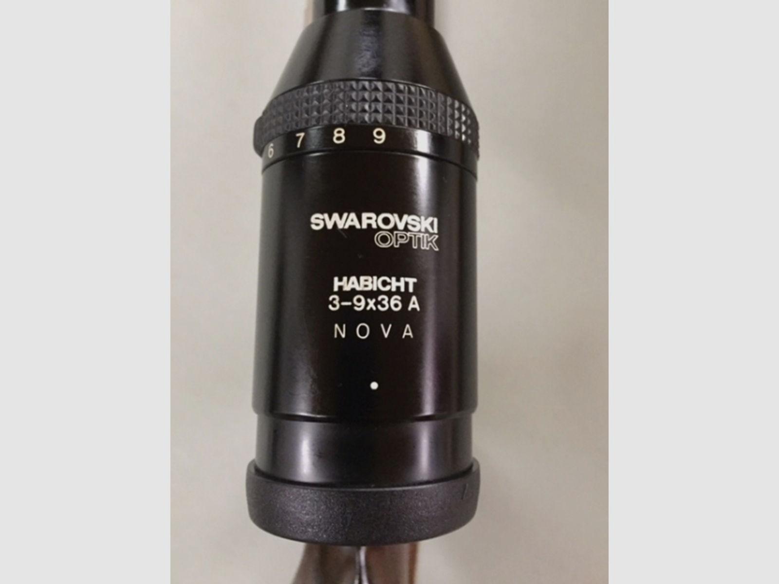 Blaser K77 7X65R mit Swarovski 3-9X36 A Nova