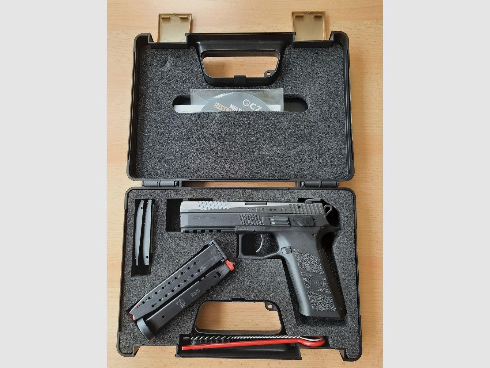 Pistole CZ P-09 - 9mm Luger