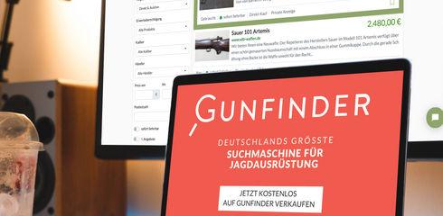 Kostenlos verkaufen: Direkt über Gunfinder