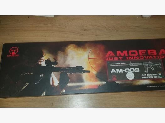 ARES Amoeba AM-009-DE mit 7,4V Lipo Akku, 4 Magazinen und Speedloader..