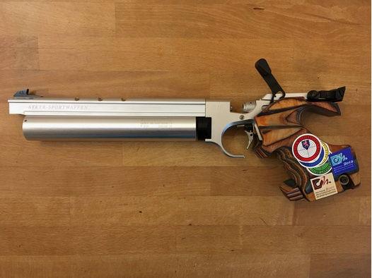 Verkauft - Luftpistole STEYR LP10  zu verkaufen