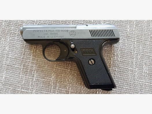 "Pistole RECK,""Perfecta""FBI 8000 PTB 387/2"
