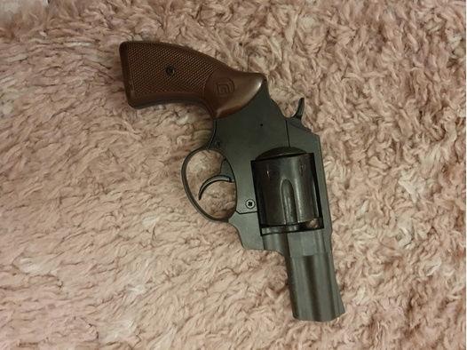Röhm RG 56 Schreckschuss Revolver 6mm Flobert brüniert
