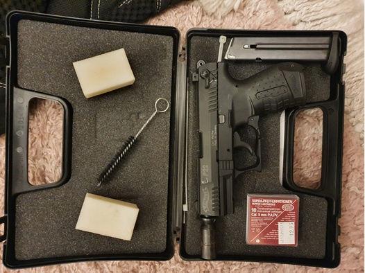 Walther P22 Schreckschuss Pistole 9mm P.A.K.