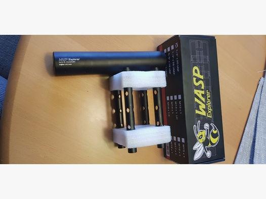 WASP EXPLORER universal Schalldämpfer mit F Gebraucht