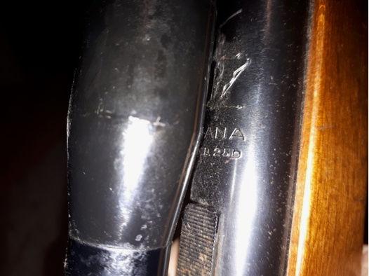 1976 baujahr Diana 25D  Luftgewehr mit 4×20  Zielfernrohr