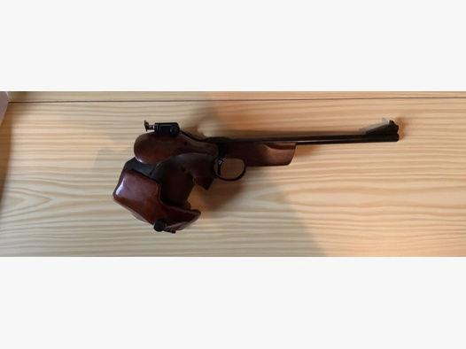 Verkaufe freie Pistole der Marke TOS 35 im Originalkoffer