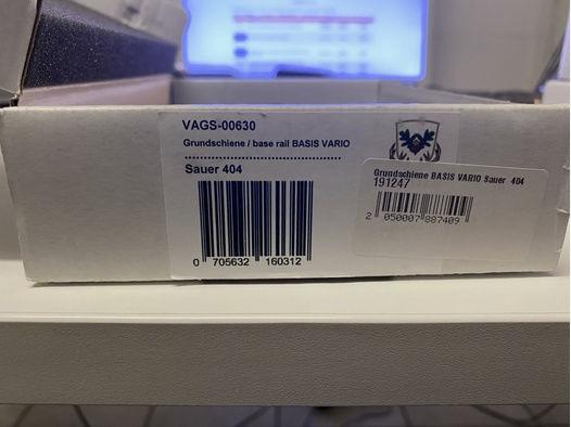 Dentler Grundschine Basis Vario für Sauer 404