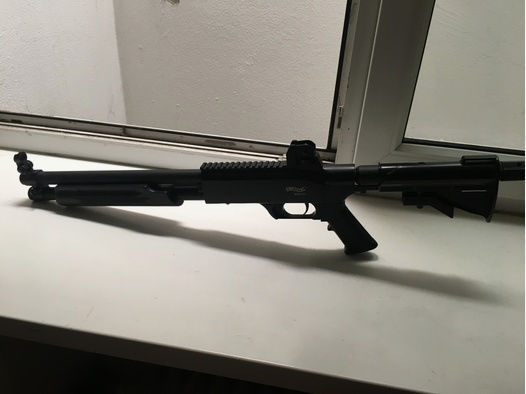 Walther SG 68 +25 Joule Ventil und Federnset+Emergencyschaft+Munition