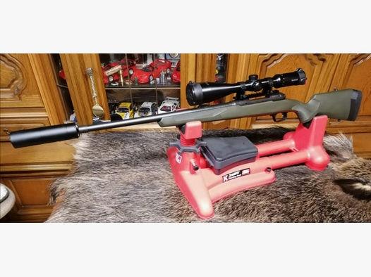 Savage Hog Hunter 308 ZF 3-12x56 Bushnell und A-Tec Optima Schalldämpfer