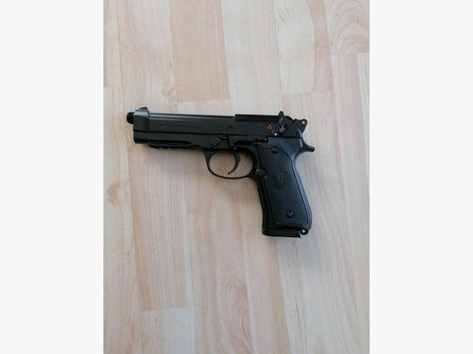 Elektrische Softairpistole Airsoftpistole Beretta 92 A1! Vollautomatisch!