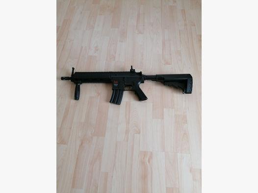 Softairgewehr Airsoftgewehr mit 300 Schuss Magazin! HK 416 C! Maschinengewehr! Neuwertig! Garantie