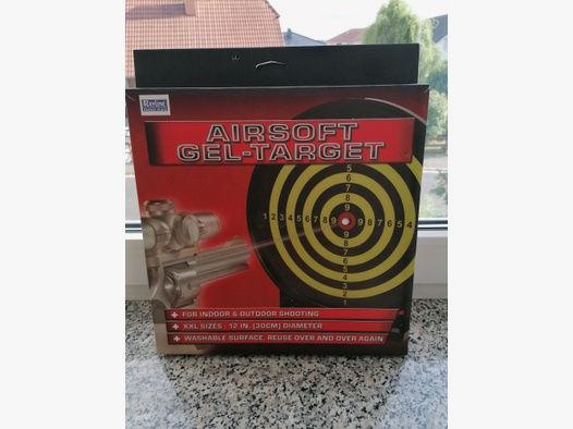 Softairzielscheibe Airsoftzielscheibe Gel Zielscheibe für Softairwaffen!