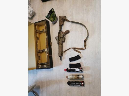 HK 416 Gbb mit zubehör.