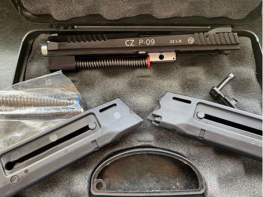 CZ P09 Kadet Wechselsystem P-09 Kadett