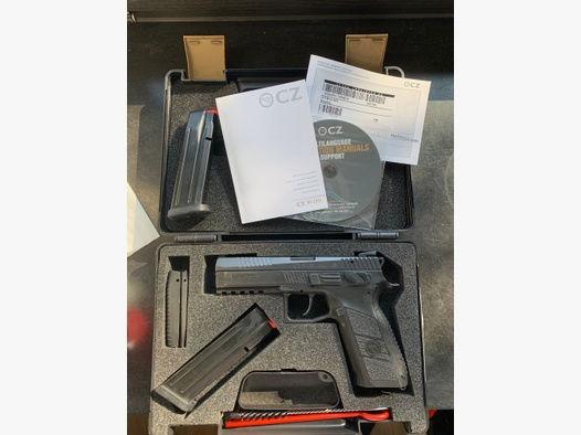 CZ P09 9mm P-09 inkl. 22. lr Kadet Wechselsystem  Kadett